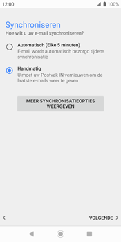 Sony xperia-xz2-h8216-android-pie - E-mail - Account instellen (POP3 zonder SMTP-verificatie) - Stap 19