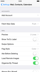 Apple iPhone 6 Plus - E-mail - Manual configuration - Step 5