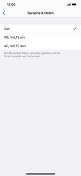 Apple iPhone XS Max - iOS 13 - Netzwerk - So aktivieren Sie eine 4G-Verbindung - Schritt 6