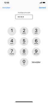 Apple iPhone XR - Beveiliging - Stel de pincode voor je simkaart in - Stap 7