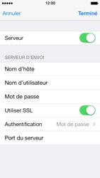 Apple iPhone 5s - E-mail - Configuration manuelle - Étape 20