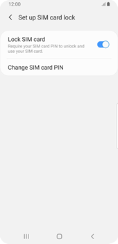 Samsung Galaxy S9 - Android Pie - Getting started - How to enable a SIM pin - Step 9