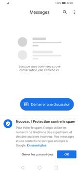 Huawei P Smart 2020 - Contact, Appels, SMS/MMS - Envoyer un SMS - Étape 3