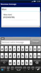 Sony Ericsson Xperia X10 - MMS - envoi d'images - Étape 5