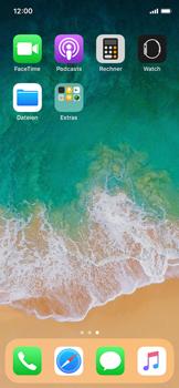 Apple iPhone X - Kontakte - Neuen Kontakt hinzufügen - 3 / 13