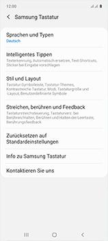 Samsung Galaxy A51 - Startanleitung - So fügen Sie eine Tastatursprache hinzu - Schritt 8