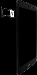 Huawei P8 Lite 2017 - SIM-Karte - Einlegen - 5 / 8