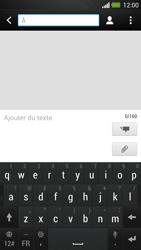 HTC One - Contact, Appels, SMS/MMS - Envoyer un MMS - Étape 4