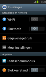 Samsung I8190 Galaxy S III Mini - WiFi - Handmatig instellen - Stap 4