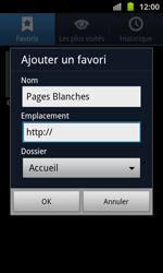 Samsung I8530 Galaxy Beam - Internet - navigation sur Internet - Étape 8