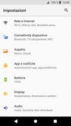 Sony Xperia XZ1 - MMS - Configurazione manuale - Fase 4
