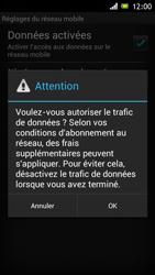 Sony Xperia J - Internet et roaming de données - Configuration manuelle - Étape 7