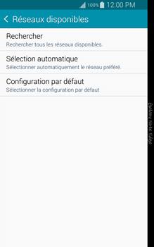Samsung Galaxy Note Edge - Réseau - Sélection manuelle du réseau - Étape 7