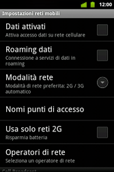 Alcatel OT-983 - Internet e roaming dati - configurazione manuale - Fase 6