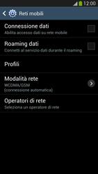 Samsung Galaxy S 4 Active - Internet e roaming dati - Come verificare se la connessione dati è abilitata - Fase 6