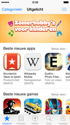 Apple iPhone 5 (iOS 8) - apps - app store gebruiken - stap 6