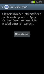 Samsung Galaxy S2 Plus - Fehlerbehebung - Handy zurücksetzen - 9 / 10