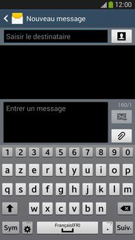 Samsung Galaxy Note 3 - Contact, Appels, SMS/MMS - Envoyer un MMS - Étape 5