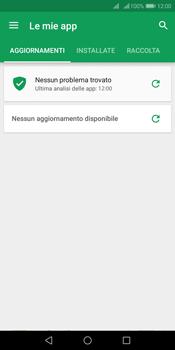 Huawei Y7 (2018) - Applicazioni - Come verificare la disponibilità di aggiornamenti per l