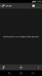 Sony Xperia V - WiFi - WiFi-Konfiguration - Schritt 5