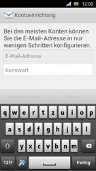 Sony Xperia U - E-Mail - Manuelle Konfiguration - Schritt 4
