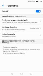 Honor 6A - Internet et connexion - Partager votre connexion en Wi-Fi - Étape 11