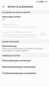 Huawei Mate 9 Pro - Fehlerbehebung - Handy zurücksetzen - 8 / 11
