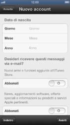 Apple iPhone 5 - Applicazioni - configurazione del negozio applicazioni - Fase 12