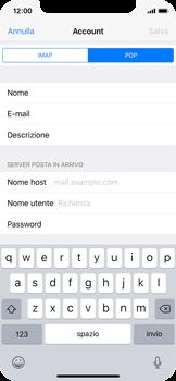 Apple iPhone X - E-mail - configurazione manuale - Fase 12