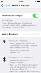 Apple iPhone 5s - Internet - Mobilen WLAN-Hotspot einrichten - 9 / 9
