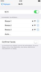 Apple iPhone 6 Plus iOS 8 - Internet et connexion - Accéder au réseau Wi-Fi - Étape 5