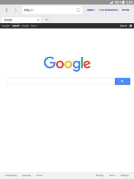 Samsung Galaxy Tab A 9.7 - Internet - Internet browsing - Step 9
