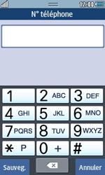 Samsung Wave 723 - Contact, Appels, SMS/MMS - Ajouter un contact - Étape 9