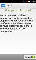 Alcatel One Touch Pop C3 - E-mail - configuration manuelle - Étape 10