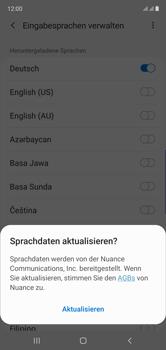 Samsung Galaxy Note 10 - Startanleitung - So fügen Sie eine Tastatursprache hinzu - Schritt 10