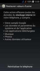 Acer Liquid Z520 - Téléphone mobile - réinitialisation de la configuration d
