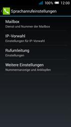 Alcatel Pop C7 - Anrufe - Rufumleitungen setzen und löschen - 7 / 11