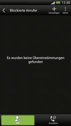 HTC One S - Anrufe - Anrufe blockieren - 5 / 10