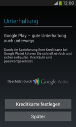 Samsung Galaxy Trend Plus - Apps - Konto anlegen und einrichten - 24 / 28