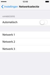 Apple iPhone 4 S iOS 9 - Netwerk - Handmatig netwerk selecteren - Stap 9