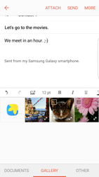 Samsung Samsung G925 Galaxy S6 Edge (Android M) - E-mail - Sending emails - Step 12
