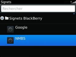 BlackBerry 9360 Curve - Internet - Navigation sur Internet - Étape 10