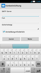 Alcatel Idol S - E-Mail - Konto einrichten - 0 / 0