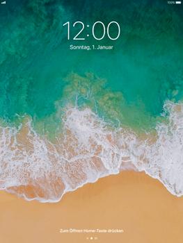 Apple iPad Air - iOS 11 - Sperrbildschirm und Benachrichtigungen - 2 / 9