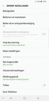 Samsung Galaxy Note 8 (SM-N950F) - Voicemail - Handmatig instellen - Stap 6