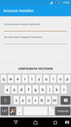Sony Xperia M5 - E-mail - Account instellen (POP3 zonder SMTP-verificatie) - Stap 21