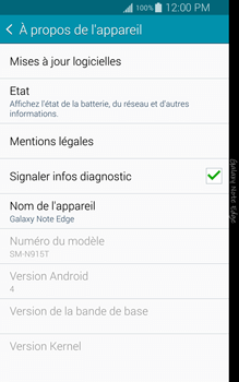 Samsung Galaxy Note Edge - Logiciels - Installation de mises à jour - Étape 6