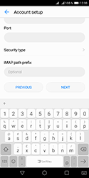 Huawei Y5 (2018) - E-mail - Manual configuration IMAP without SMTP verification - Step 15
