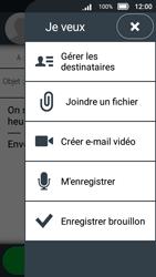 Doro 8031 - E-mails - Envoyer un e-mail - Étape 14