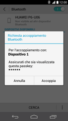 Huawei Ascend P6 - Bluetooth - Collegamento dei dispositivi - Fase 7